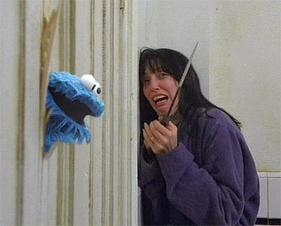The Shining Cookie Monster