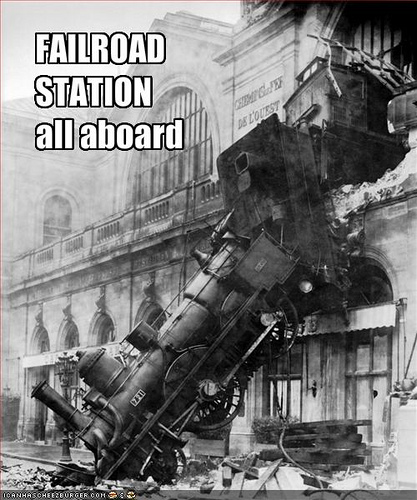 FAILROAD STATION - All Aboard