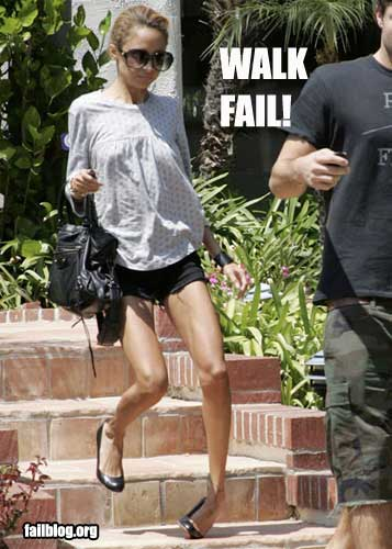 FAIL Walking
