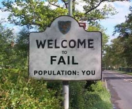 FAIL population YOU