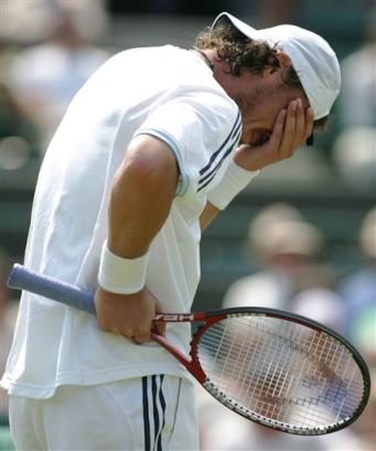 Tennis Facepalm