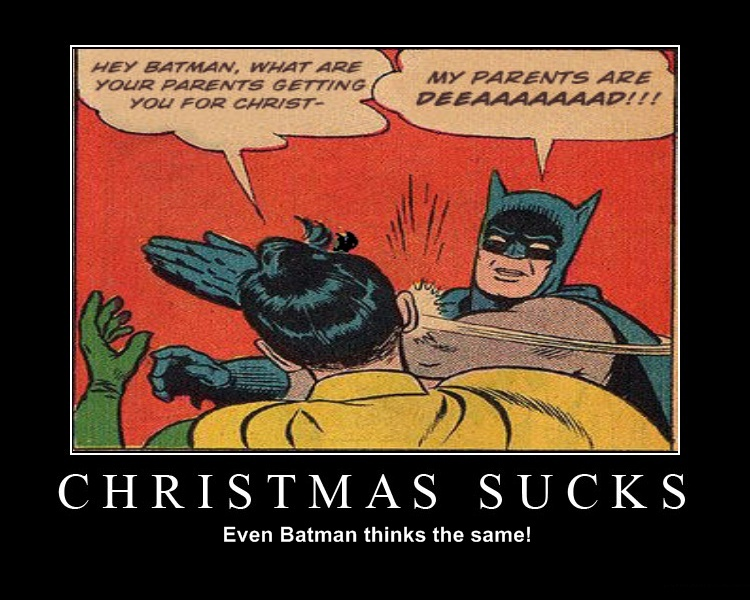 Batman Hates to!