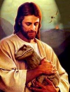Jesus and Dinosaur