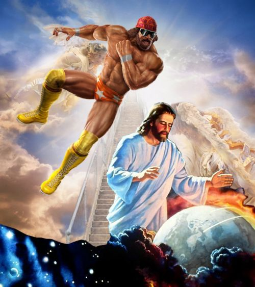 Macho Man Randy Savage prevents rapture