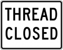 Thread Closed